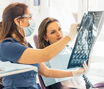 Dental Oral X-rays Services at Scott & Derry Dental Care in Milton ON Area